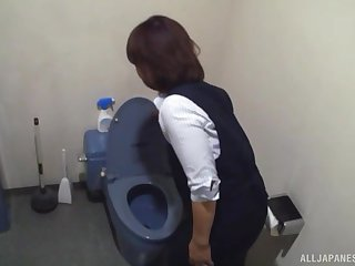 Hardcore fluency blowjob from Japanese amateur MILF maid