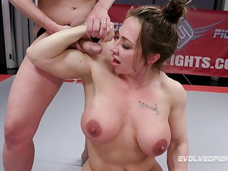 After she finished a weigh Brandi Mae gets her pussy banged by a comprehensive