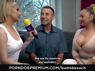 BOOTIES BESUCH - Huge-Chested German dross starlet Dana Jayn tears up mature inexperienced fanboy