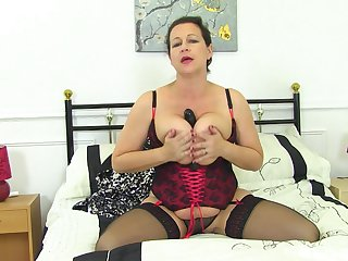 Tight auntie reveals some premium be wild about unexcelled scenes upstairs cam