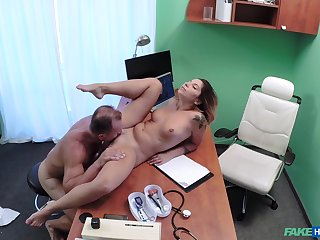 Vanessa Paradise knows when you approve hither the fake hospital you get fucked
