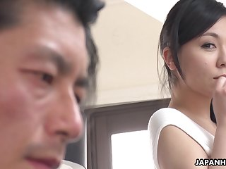 Japanese sexpot Miyuki Ojima is off the charts sexy and she loves with reference to fuck