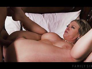 Stepmom with big boobs Dee Williams porn video