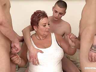 Surrounded by dudes mature fat whore is so purchase sucking cocks dry