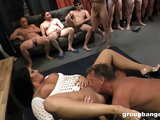 Outcast fucking on a difficulty floor with an amateur MILF who loves sex