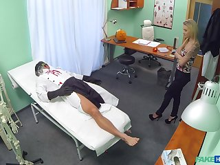 Steamy scenes of merciless sex with a young patient