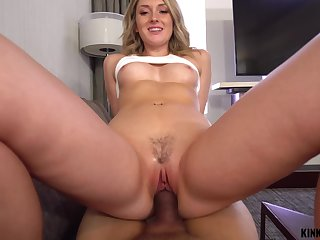 Dick hungry nympho Charlotte Sins gets caught up in lust with her stepbrother